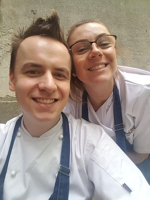 Ariel Ziółkowski i Magda Wacek